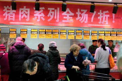 China January inflation eases even as global price anxiety grows