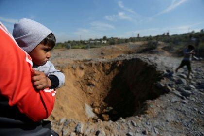 Israel - Hamas-Tunnel in Gazastreifen zerstört