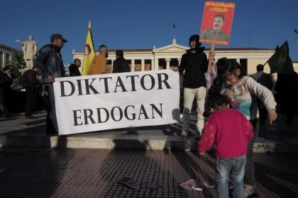 Wachsende Sorgen von Anschlägen radikaler Kurden