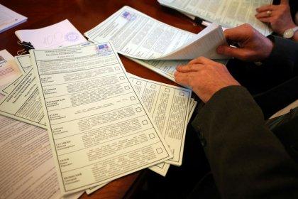 Rege Beteiligung bei russischer Präsidentenwahl