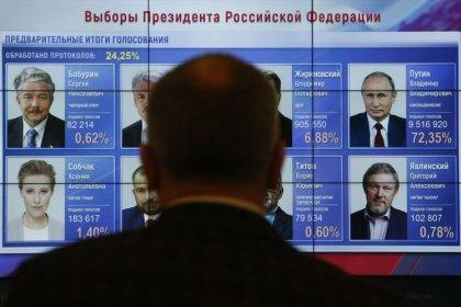 Präsident Putin sichert sich vierte Amtszeit im Kreml