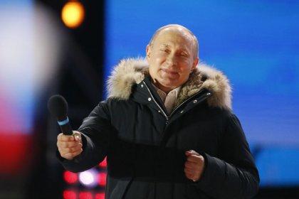 """Putin sieht nach Wiederwahl """"große Zukunft für Russland"""""""