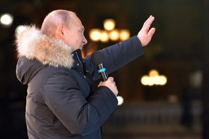 Путин назвал смешным вопрос о еще одном президентском сроке