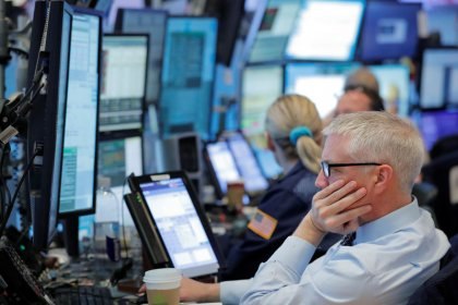 Prices gain as tumbling stocks boosts safety buying