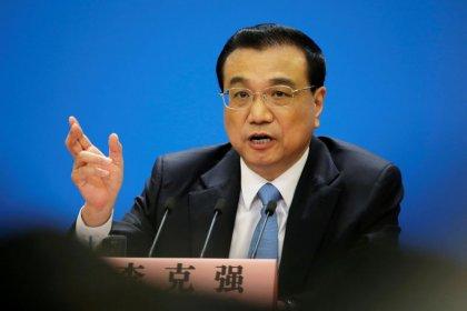 China's Premier Li says no winner from any trade war between China, U.S.