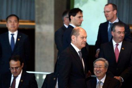 Global trade war biggest concern at G20 meeting: German minister