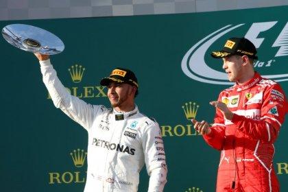 Hamilton, Vettel kick off race for fifth title at Australian Grand Prix