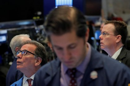 Wall Street flat as oil offsets Facebook's drop; Fed move awaited