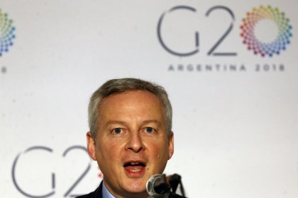 France wants progress on euro zone banking union by June: Le Maire