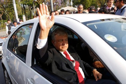 Left-wing Mexico candidate leads ahead of presidential vote: poll