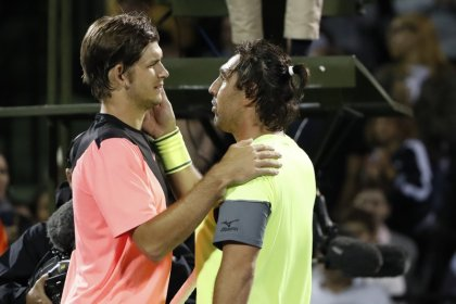Sousa beats Harrison to set up Goffin clash in Miami