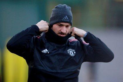 Ibrahimovic says farewell to Manchester United ahead of U.S. move