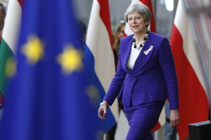 Seize on 'new dynamic' to agree Brexit deal, May tells EU