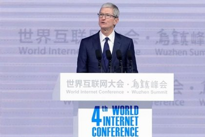 Apple's Tim Cook calls for calm heads on China, U.S. trade