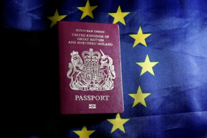Britons rushed for EU passports in Brexit vote year - data
