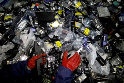 'Urban mining' in South Korea pulls rare battery materials from recycled tech