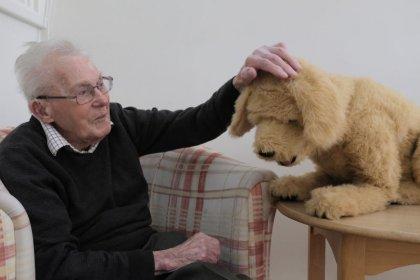 الكلب الآلي يقدم أملا لمساعدة من يعانون العته