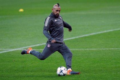 El jugador del Bayern Vidal no podrá jugar durante un corto periodo por una operación de rodilla