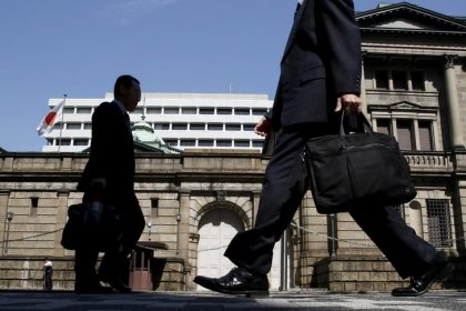 BOJ to forecast inflation nearing 2 percent target in fiscal year 2019, 2020 - sources