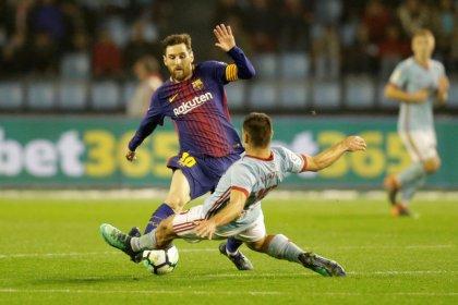 Barcelona segura pressão do Celta e se mantém invicto no Espanhol