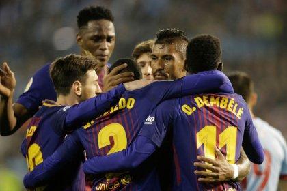 El Barça empata ante el Celta y se acerca al título de Liga