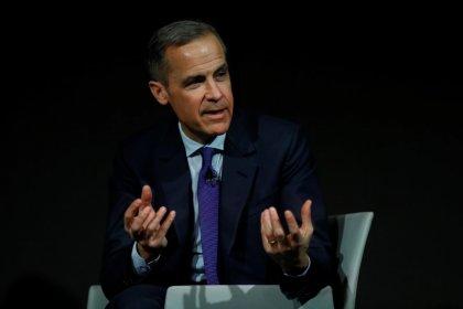 محافظ بنك انجلترا يثًبط توقعات لزيادة في أسعار الفائدة في مايو