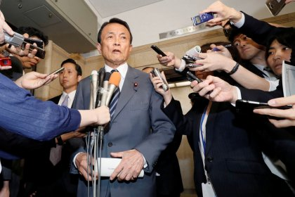 Japan tells G20 protectionism will disrupt markets - Aso