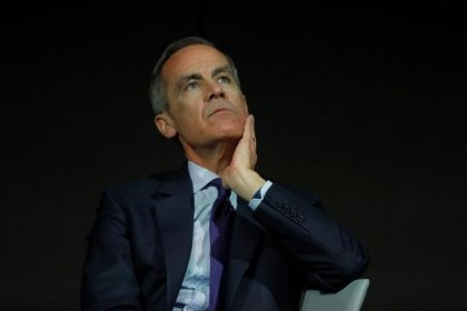May rate bets shrink to 40 percent after BoE's Carney comments