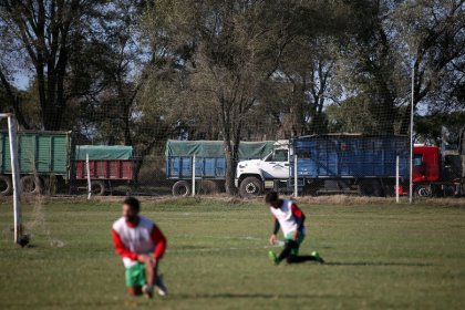 Soccer-New club built from soy bean fortune growing quickly