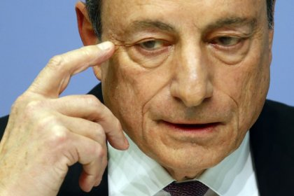 Euro zone economy needs global growth, open trade - ECB's Draghi