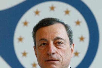 Bce, Draghi: a economia zona euro serve crescita globale e libero scambio