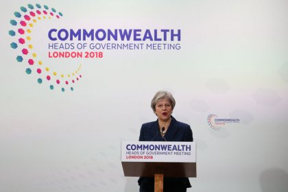 May says will consider compensating affected Windrush migrants