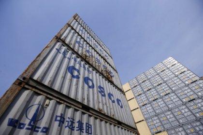 U.S. questions COSCO's takeover of California cargo terminal: WSJ