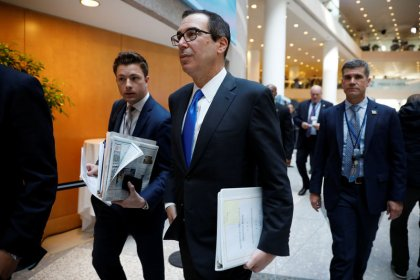 U.S. Treasury chief may visit China as trade tensions simmer