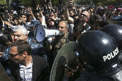 Armenian PM rejects demands to quit on 10th day of protests