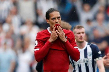 No need to panic about Liverpool defence, says Van Dijk