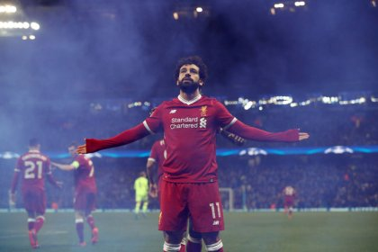 Liverpool's Salah takes centre stage against former club Roma