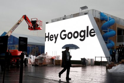 Google helps stock markets recover, oil stretches above $75