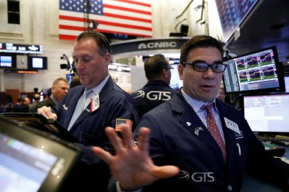 FAANG, industrial stocks hit Wall Street