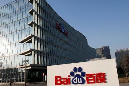 China's Baidu tops profit estimates on advertising growth, shares jump