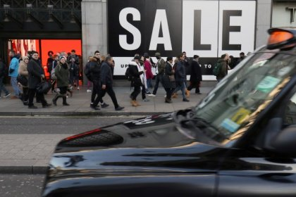 UK consumer economy fails to bounce back much in April - surveys