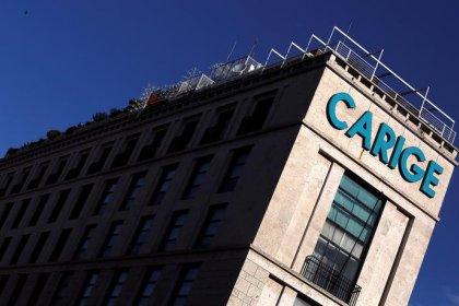 Carige torna in utile per 6,4 milioni in primo trimestre su calo costi, rettifiche