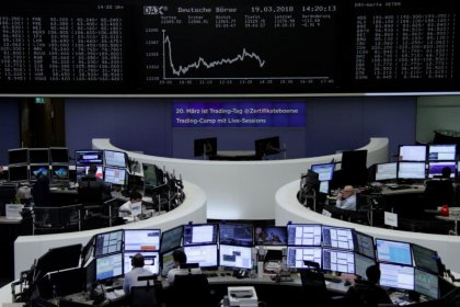 Stocks, euro climb as calm in Italy overshadows chaotic G7