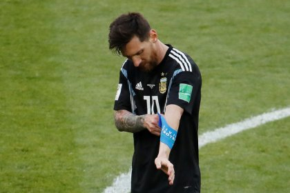 Signs bad for Messi's last chance to emulate Maradona