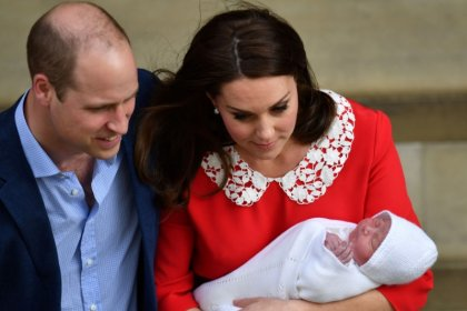 Prince Louis to be christened next month, palace says