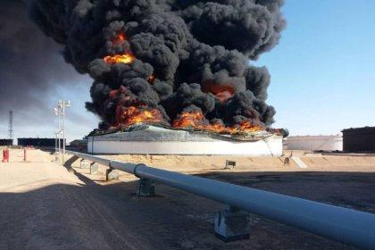 صنع الله: ليبيا فقدت 450 ألف ب/ي من إنتاج النفط بسبب اشتباكات عند مرفأين