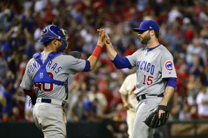 Cubs closer Morrow injured while taking off his pants