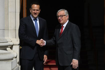 EU's Juncker says backing of Irish Brexit position will not change