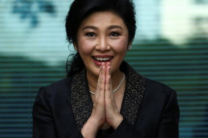 Former Thai PM Yingluck breaks silence months after fleeing country