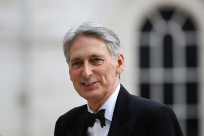 UK borrowing falls more than expected, Hammond under pressure to spend